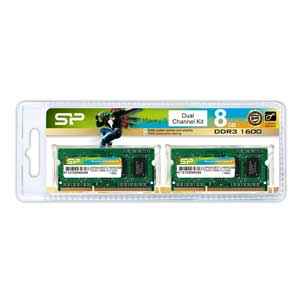 SP008GBSTU160N22JB シリコンパワー PC3-12800(DDR3-1600)204pin DDR3 SDRAM S.O.DIMM 8GB(4GB×2枚) [SP008GBSTU160N22JB]【返品種別B】【送料無料】