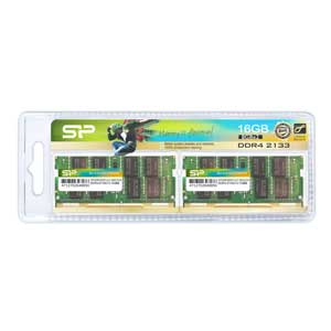 SP016GBSFU213B22JB シリコンパワー PC4-17000(DDR4-2133)260pin DDR4 SDRAM S.O.DIMM 16GB(8GB×2枚) [SP016GBSFU213B22JB]【返品種別B】【送料無料】