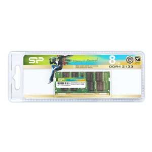 【エントリーでP5倍 8/20 9:59迄】SP008GBSFU213B02JB シリコンパワー PC4-17000(DDR4-2133)260pin DDR4 SDRAM S.O.DIMM 8GB