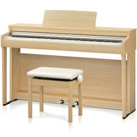 CN27-LO カワイ 電子ピアノ(プレミアムライトオーク調仕上げ)【高低自在椅子&ヘッドホン付き】 KAWAI