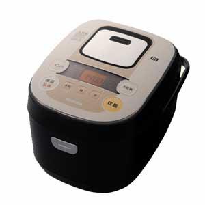KRC-IB50-B アイリスオーヤマ IHジャー炊飯器(5.5合炊き) ブラック/シャンパンゴールド IRIS OHYAMA 銘柄炊きIHジャー炊飯器