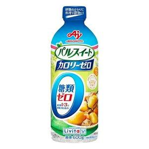 パルスイート カロリーゼロ液体タイプ 600g  大正製薬 パルスイ-トカロリ-0エキ 600GA