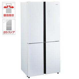 (標準設置料込)JR-NF468A-W ハイアール 468L 4ドア冷蔵庫(ホワイト) Haier Global Series