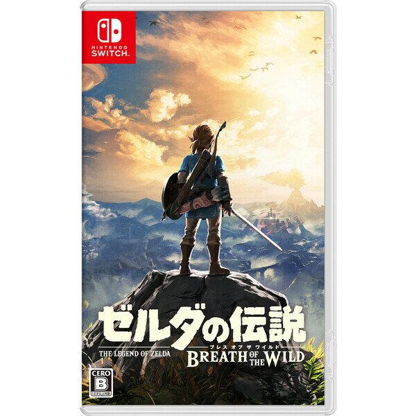 【Nintendo Switch】ゼルダの伝説 ブレス オブ ザ ワイルド(通常版) 任天堂 [HAC-P-AAAAA NSWゼルダブレスオブ]【返品種別B】