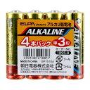 LR6AB/4S ELPA アルカリ乾電池単3形 4本パック ALKALINE [LR6AB4S]