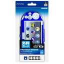 【PS Vita】Newプロテクトフレーム for PlayStation(R)Vita クリアブルー ホリ [PSV-133]【返品種別B】