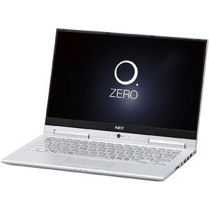 PC-HZ750GAS NEC 13.3型 2-in-1 ノートパソコンLAVIE Hybrid ZERO HZ750/GAシリーズムーンシルバー (Office Home&Business Premium プラス Office 365) [PCHZ750GAS]【返品種別A】