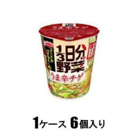 ヌードルはるさめ 1/3日分の野菜 うま辛チゲ 44g(1ケース6個入) エースコック ハルサメ1/3ニチヤサイウマチゲ6コ