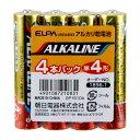 LR03AB/4S ELPA アルカリ乾電池単4形 4本パック ALKALINE [LR03AB4S]