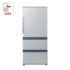 AQR-271F-S アクア 272L 3ドア冷蔵庫 ミスティシルバー 【右開き】 AQUA [AQR271FS]【返品種別A】(標準設置料込)