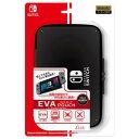 【Nintendo Switch】EVAポーチ for ニンテンドーSWITCH BLACK アイレックス [ILXSW187]