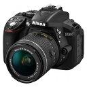 D5300LKP18-55【税込】 ニコン デジタル一眼レフカメラ「D5300」AF-P 18-55 VR レンズキット(ブラック) [D5300LKP1855...