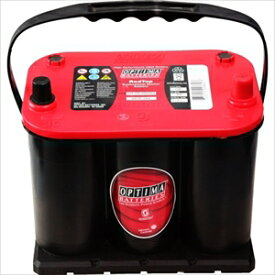 100D23L OPTIMA ディープサイクルバッテリー【他商品との同時購入不可】 REV Red3.7+3.7用アダプター赤
