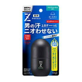 メンズビオレZ 薬用デオドラントロールオン アクアシトラスの香り 花王 MBデオZロ-ルオンAC