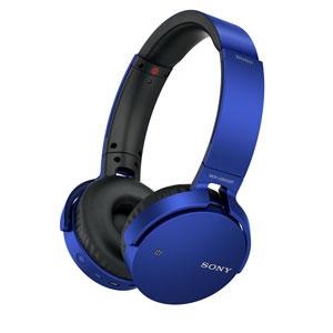 MDR-XB650BT L ソニー Bluetooth対応ワイヤレスステレオヘッドセット(ブルー) SONY