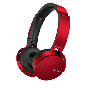 MDR-XB650BT R ソニー Bluetooth対応ワイヤレスステレオヘッドセット(レッド) SONY