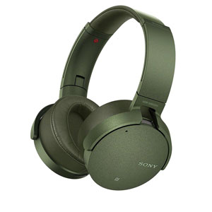 MDR-XB950N1 G ソニー Bluetooth対応ノイズキャンセリング搭載ワイヤレスステレオヘッドセット(グリーン) SONY