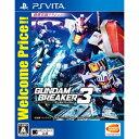 【PS Vita】ガンダムブレイカー3 Welcome Price!! 【税込】 バンダイナムコエンターテインメント [VLJS-05104]【返品種別B】【R...