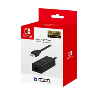 【Nintendo Switch】LANアダプター for Nintendo Switch ホリ [NSW-004 LANアダプター]【返品種別B】