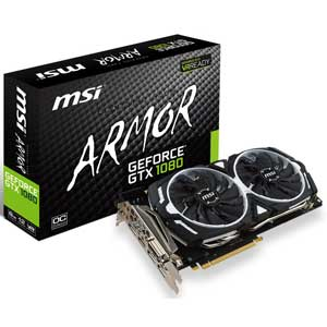 GTX 1080 ARMOR 8G OC MSI PCI-Express 3.0 x16対応 グラフィックスボードMSI GeForce GTX 1080 ARMOR 8G OC [GTX1080ARMOR8GOC]【返品種別B】