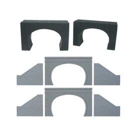 [鉄道模型]津川洋行 (N) NA-22 トンネルポータル複線用(石積タイプ)トンネルライナーセット
