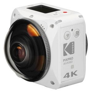 4KVR360 コダック 360°アクションカメラ「4KVR360」