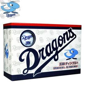 CDBA-7753ホワイト レザックス 中日ドラゴンズ ゴルフボール 6個入り(ホワイト)