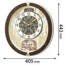 RE579B【税込】 セイコークロック からくり時計 [RE579B]【返品種別A】【送料無料】【RCP】