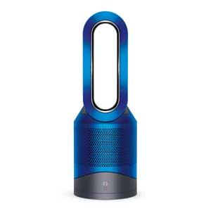 HP03IB ダイソン 空気清浄・送風機能付ファンヒーター(リモコン付 アイアン / ブルー) 【送風・温風兼用】dyson Pure Hot+Cool link [HP03IB]【返品種別A】
