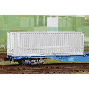 [鉄道模型]朗堂 (N) C-4401 31fコンテナ 4方リブ付 側面2方ウィングドア 妻1方開き 無塗装(3個入り) [ホガラカドウ C-4401]【返品種別B】