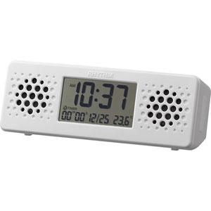 アクアプル-フミュ-ジック リズム時計 Bluetoothスピーカー付バスクロック 8RDA73RH03 [アクアプルフミジク]【返品種別A】