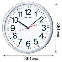 KX229S【税込】 セイコークロック 電波掛時計 [KX229S]【返品種別A】【送料無料】【RCP】