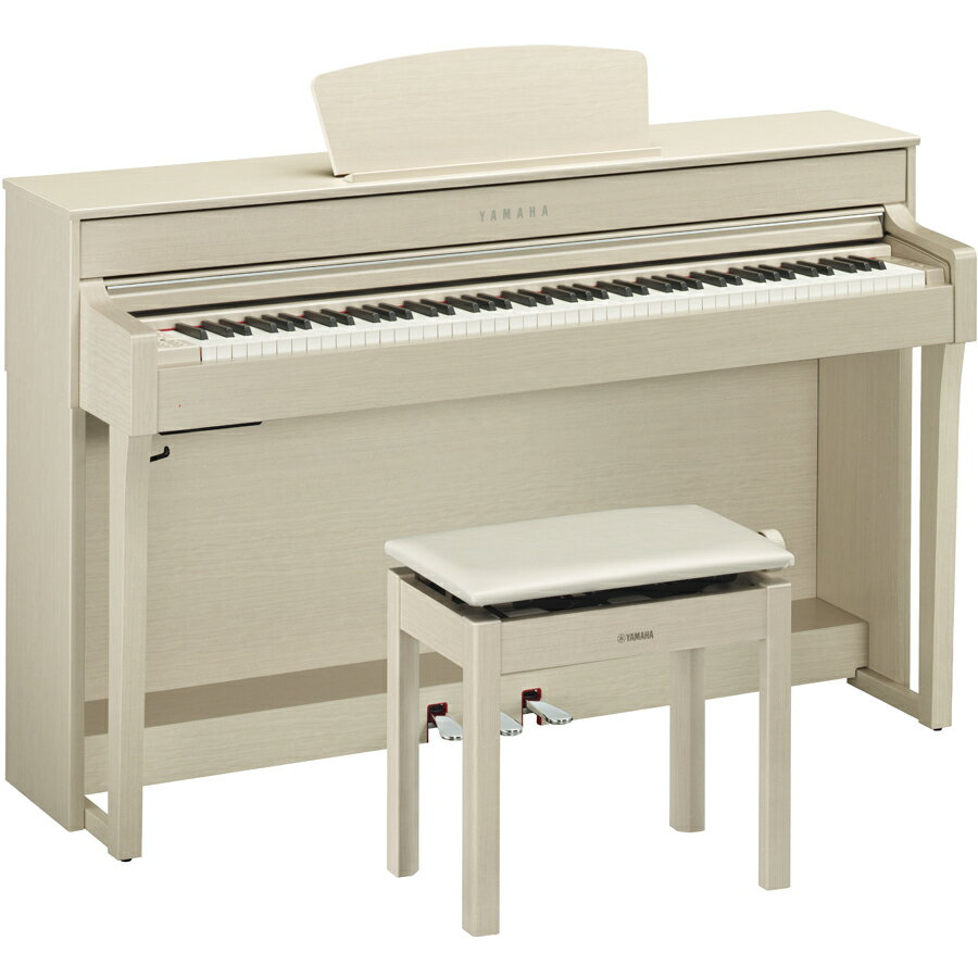 CLP-635WA ヤマハ 電子ピアノ(ホワイトアッシュ調)【高低自在椅子&ヘッドホン&ソングブック付き】 YAMAHA Clavinova(クラビノーバ) [CLP635WA]【返品種別A】
