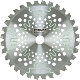 0068-4571 日立工機 刈払機用チップソー 230X2.2X25.4mm 32山 刈払機用チップソー