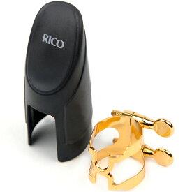 LRICHCL1G ダダリオウッドウインズ B♭クラリネット用リガチャー&キャップ(ゴールドプレート仕様) D'Addario WOODWINDS H-Ligature & Cap Bb Clarinet Gold