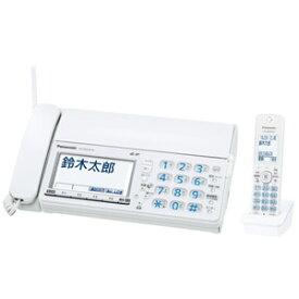 KX-PZ610DL-W パナソニック デジタルコードレス普通紙ファクス(子機1台付き) ホワイト Panasonic おたっくす