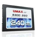 S300TL240K【税込】 UMAX UMAX SSD S300シリーズ 240GB [S300TL240K]【返品種別A】【送料無料】【RCP】