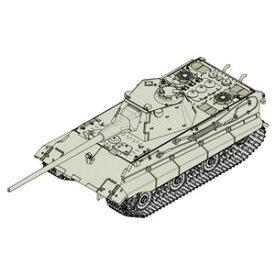1/72 ドイツ軍 E-50中戦車【07123】 トランペッター