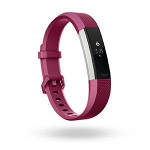 FB408SPML-CJK フィットビット ウェアラブル活動量計・睡眠計・心拍計(フクシア/Lサイズ) Fitbit Alta HR [FB408SPMLCJK]【返品種別A】【送料無料】