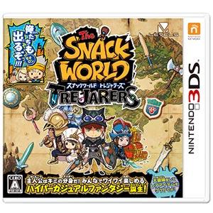 【封入特典付】【3DS】スナックワールド トレジャラーズ レベルファイブ [CTR-P-BWSJ 3DSスナックワールド]【返品種別B】【送料無料】