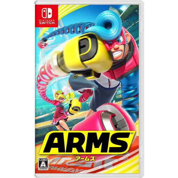 【Nintendo Switch】ARMS 任天堂 [HAC-P-AABQA NSWアームズ]【返品種別B】