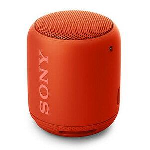 SRS-XB10 R ソニー 防水対応Bluetoothスピーカー(オレンジレッド) SONY