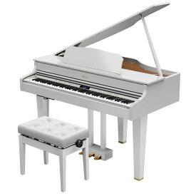 GP607-PWS(イスツキ) ローランド 電子グランドピアノ(白塗鏡面塗装仕上げ)【高低自在椅子&楽譜集付き】 Roland Digital Grand