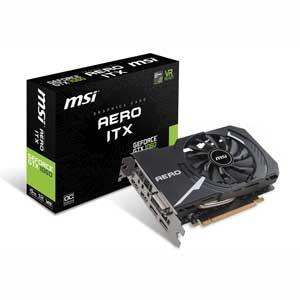 【エントリーでP5倍 8/20 9:59迄】1060 AERO ITX 6G OC MSI PCI-Express 3.0 x16対応 グラフィックスボードMSI GeForce GTX 1060 AERO ITX 6G OC