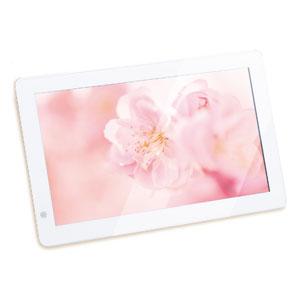 KD10FR-W【税込】 恵安 10インチワイド デジタルフォトフレーム(ホワイト)