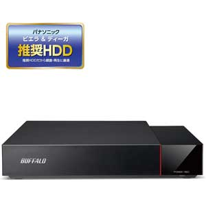 HDV-SA3.0U3/VC バッファロー USB3.1(Gen1)/3.0対応 外付けハードディスク 3.0TBビエラ&DIGA(ディーガ)推奨ハードディスク [HDVSA30U3VC]【返品種別A】