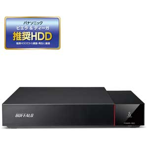 HDV-SQ3.0U3/VC バッファロー USB3.1(Gen1)/3.0対応 外付けハードディスク 3.0TBビエラ&DIGA(ディーガ)推奨ハードディスク(SeeQVault対応) [HDVSQ30U3VC]【返品種別A】
