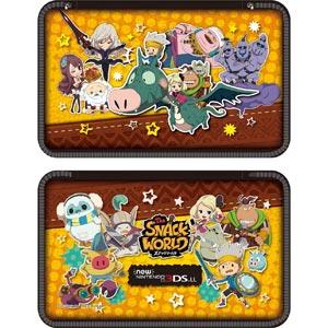 【New3DS LL】スナックワールド new NINTENDO 3DS LL 専用 ポーチ(大集合Ver.) タカラトミーアーツ [SNW-02B]【返品種別B】
