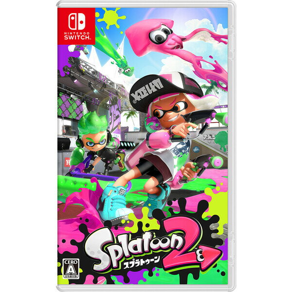 【Nintendo Switch】Splatoon 2(スプラトゥーン2) 任天堂 [HAC-P-AAB6A NSWスプラトゥーン2]【返品種別B】