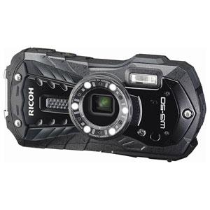WG-50BK リコー デジタルカメラ「RICOH WG-50」(ブラック) [WG50BK]【返品種別A】